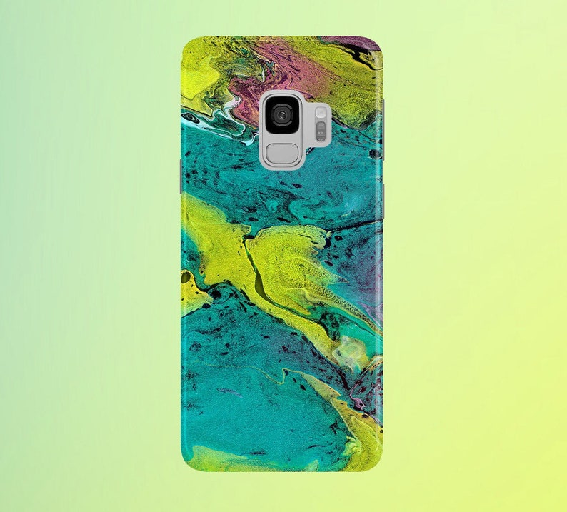 Magenta x Turquois x Yellow Phone Case for apple iphone image 0