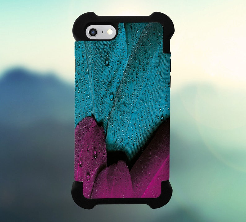 Plumage Feather Bird Pink Phone Case for iPhone Galaxy Note image 0