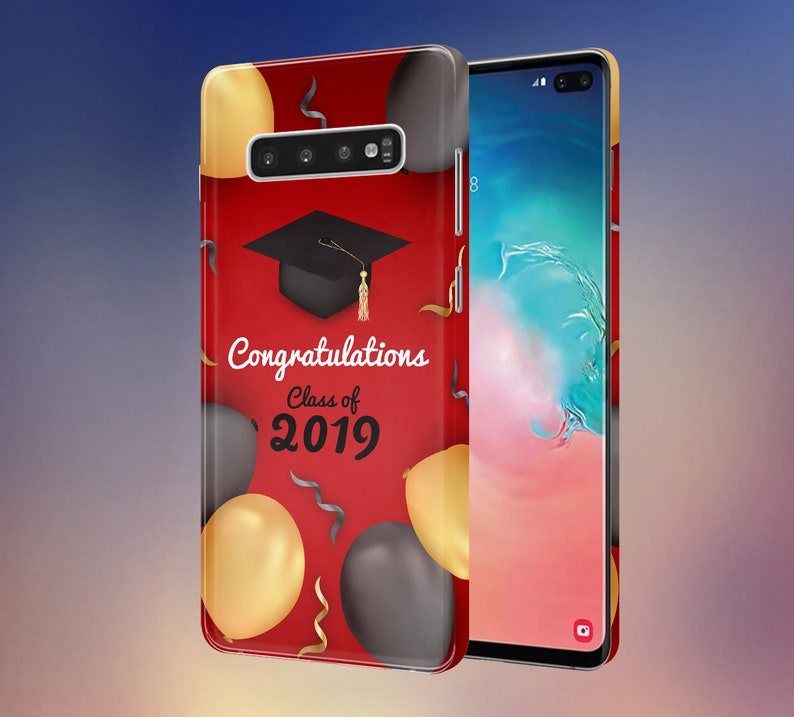Congratulations Class of 2019 x Gold x Black Balloons phone image 0
