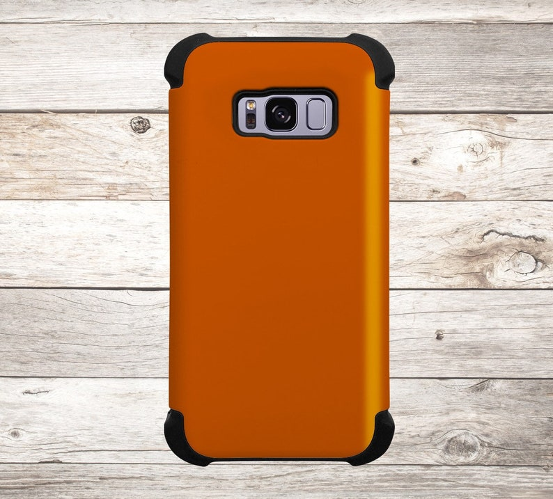 Solid Color Burnt Orange Phone Case for apple iphone samsung image 0