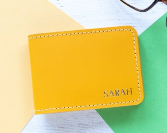 b16c48845c7a7 Leather Credit Card Holder