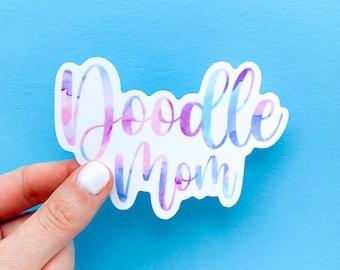 Doodle Mom Sticker | Doodle Sticker | Golden Doodle Sticker | Goldendoodle Sticker | Labradoodle Sticker | Bernedoodle Sticker
