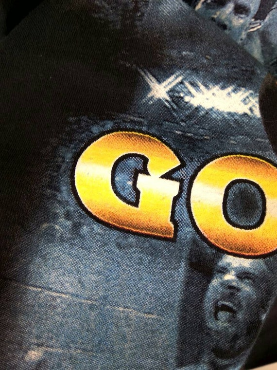 90 s GOLBERG WCW Vintage Wrestling hip-hop lutteur de Golberg 90 s lutteur hip-hop tee shirt style oversize taille XXL a1360b