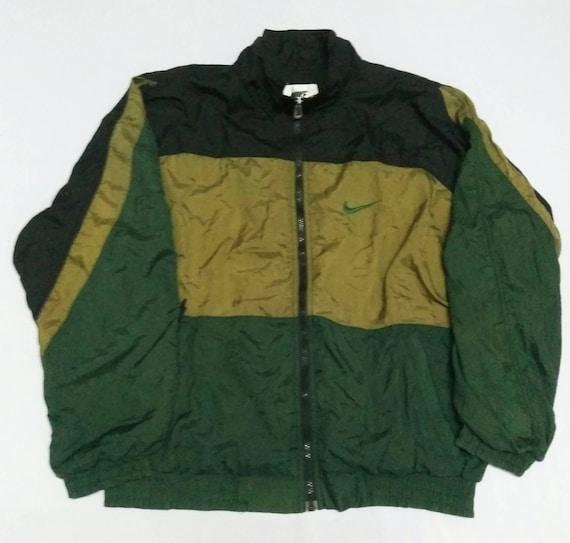 Vintage Nike 90s Nike Winbreaker Light Jacket Nike Swoosh 90s  438b88ba0