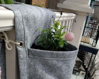 Empoté - Rail planter - 2 pockets