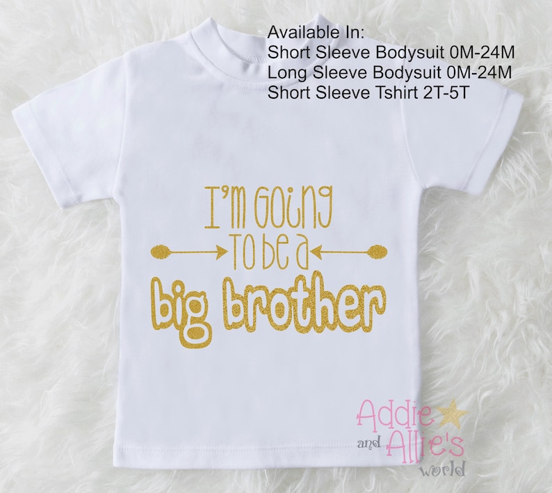 9ab9c013 Promoted to Big Brother Shirt Pregnancy Announcement Shirt Big | Etsy