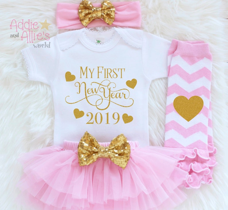 d130d2f1495d3 My First New Years 2019 Outfit Girls New Year Outfit 1st New