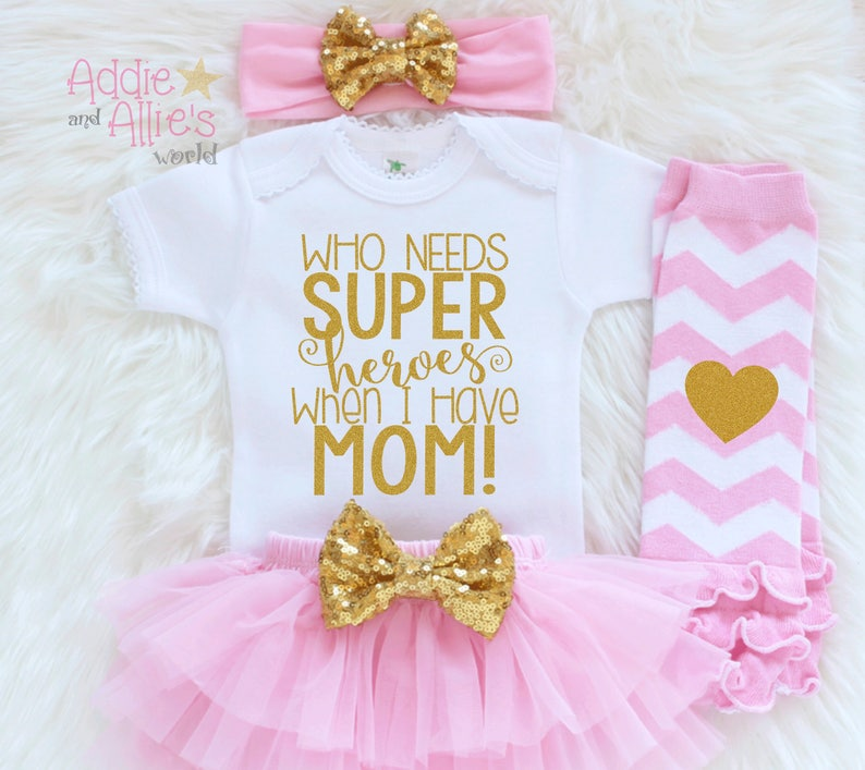 Baby Girl Happy 1st Mother\u2019s Day Outfit 1st Mothers Day Gift Baby Girls First Mothers Day Outfit M6P My First Mothers Day Baby Outfit