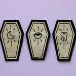 Moon, Tooth and Eye Coffin Patches