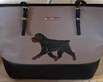 Rottweiler purse   Etsy dc63a63163