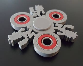 Custom Hatchet Man Fidget / Hand Spinner - ICP Hatchetman - EDC Desk Toy - Focus Tool -Premium Bearings