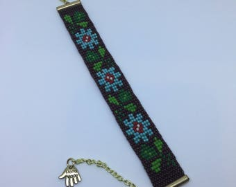 Fall flowers bracelet