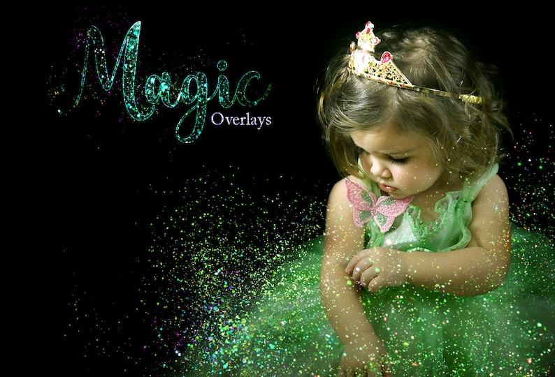 Mystic fairy overlay glitter effect fairies dust fairy tail digital  background magic sparkling image overlays glitter png photoshop overlay