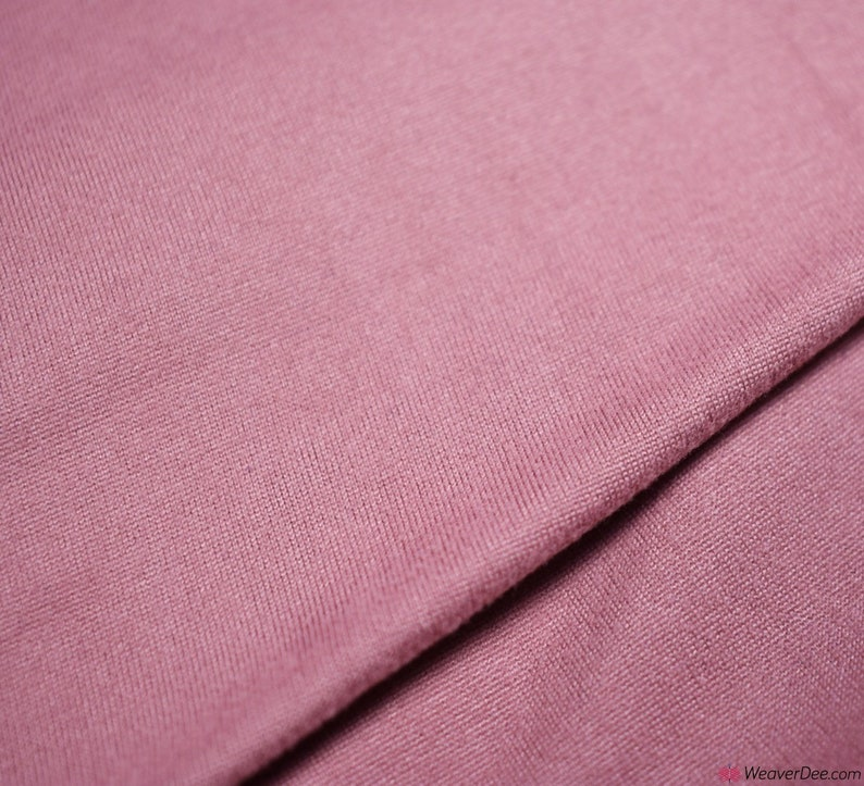 Pretty Pink Double Jersey Cotton Lycra Jersey 150cm