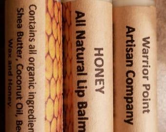 Organic Lip Balm: Honey