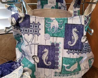 Sea Critters Grocery Tote