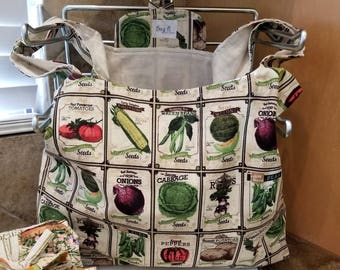 Seed Packets Grocery Tote