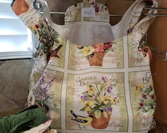 Garden Sayings Grocery Tote
