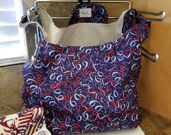 Stars on Ribbons Grocery Tote