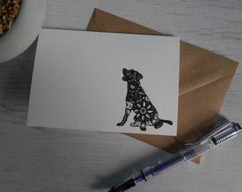 Labrador Labradors Birthday Card Greeting Thank You Art Gun Dogs Gifts For Lovers Labs