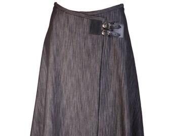 Isabella skirt A-line denim