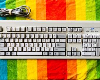 Vintage IBM keyboard