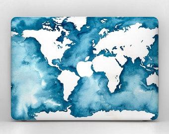 World map macbook etsy ocean print macbook air 13 skin world map macbook 12 skin macbook world 2017 macbook decal macbook map case skin macbook pro 13 world map gumiabroncs Choice Image