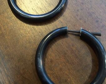 Earrings Horn Round (ER-HN-003)