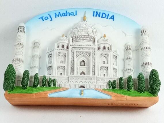 Taj Mahal Indien India Foto Fridge Kühlschrank Magnet Reise Souvenir