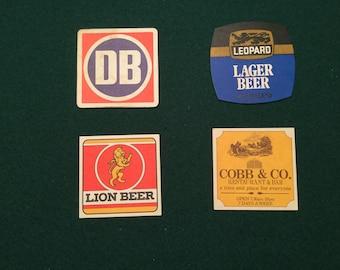 New Zealand Beer coasters