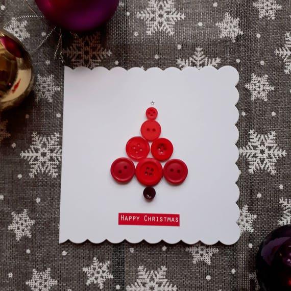 Handgemachte Weihnachtskarten Weihnachtspostkarten | Etsy