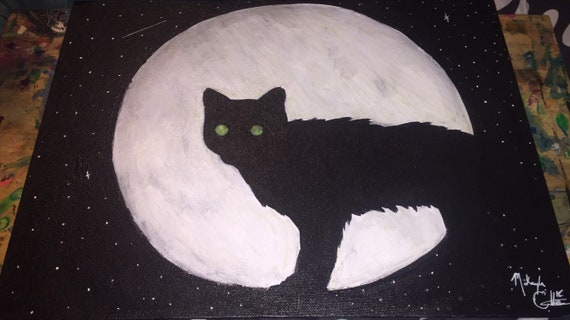 Kitty & the Moon