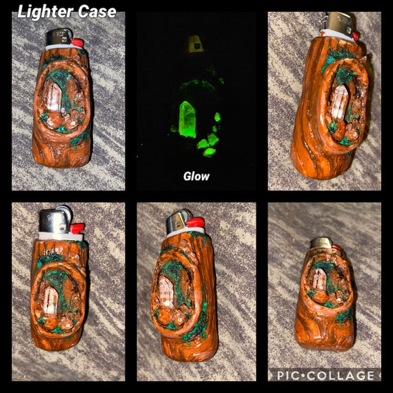 Crystal Cave Lighter Case