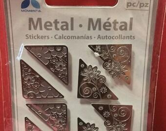 Momenta Metal Floral Photo/Page Corners