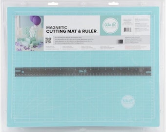 We R Magnetic Cutting Mat & Ruler