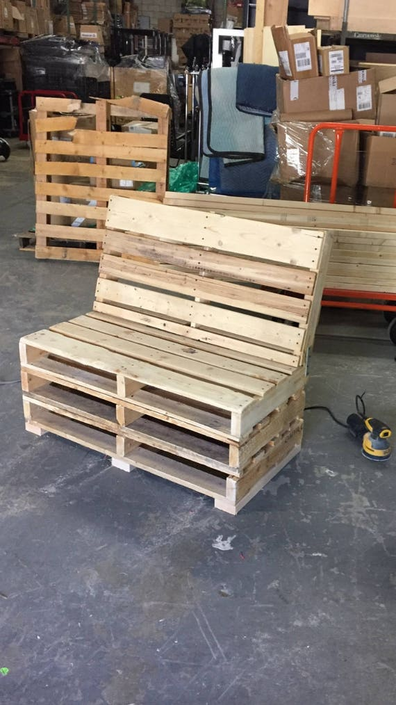 Etsy pallet furniture Pallet Wood Image Etsy Pallet Bench Etsy