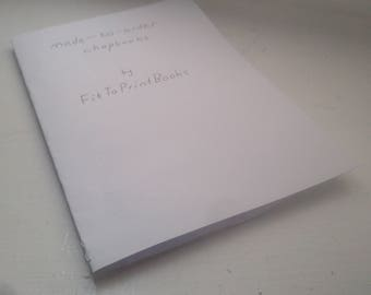 Simple made-to-order chapbooks