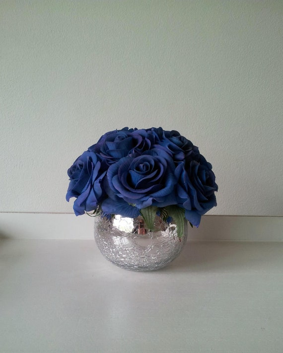 Artificial Flowers Centrepiece Real Touch Floral Arrangement Etsy