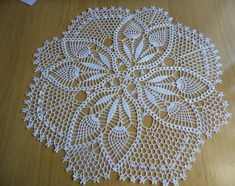 "Round crochet doily ""Dawn"""