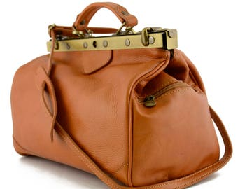 Genuine Leather Bag for Doctor