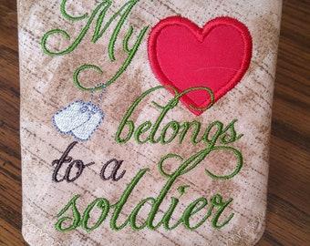 Heart Belongs to a Soldier Bandana