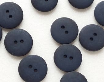 Buttons for Coats - darkblue- blue - Vintage Buttons - Shirt Button -Button for Jackets - Trench Coat Buttons -  1,8 cm - 2 cm