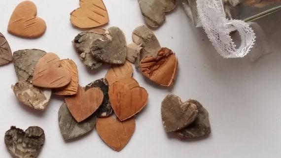 8 x Birch Tree Bark Sheets Rustic Bridal Wedding Venue Decorative Shapes Crafts