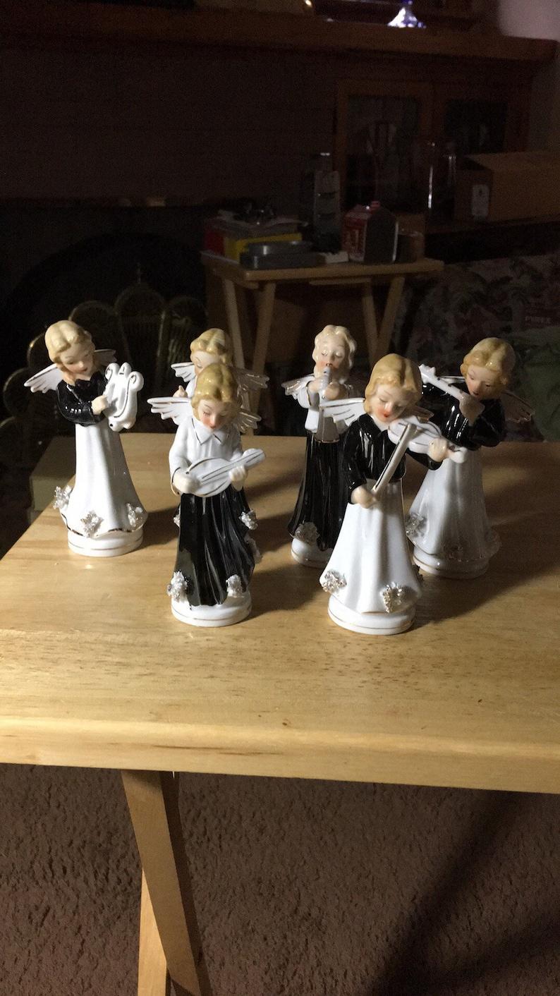 Vintage Japan Angel Musicians