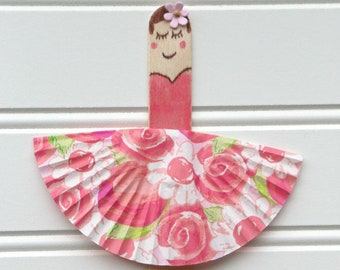 Kids Doll Craft Kit, Popsicle Stick Craft Kit