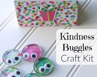 SUMMER BUG CRAFT, Kindness Buggles Craft Kit, Kids Crafts, Summer Craft for Kids