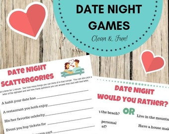 Date Night Games for Couples (Clean & Fun Couple Games)