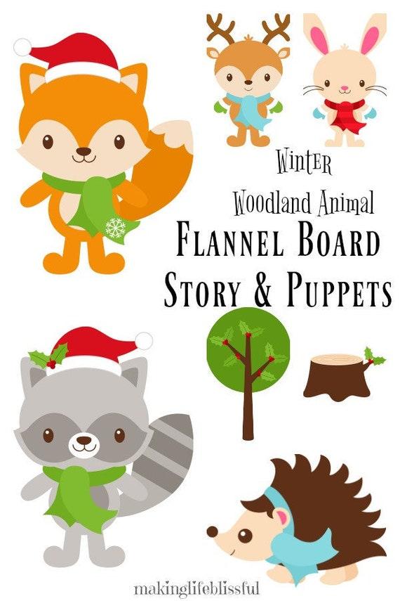 Winter Woodland Animal Printables