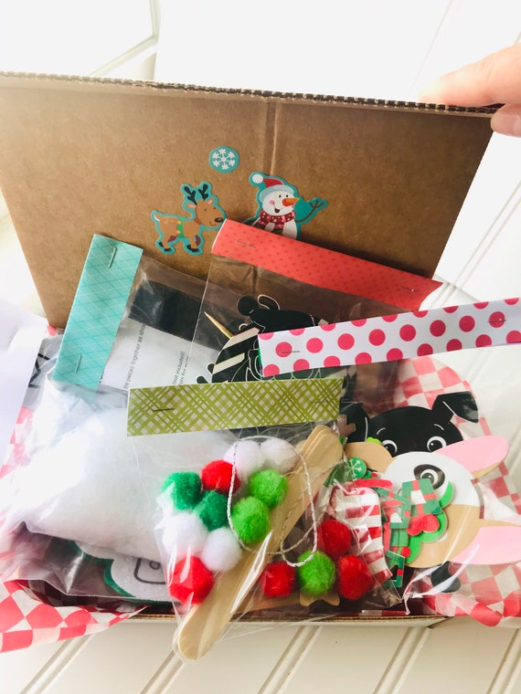 Kids Craft Box Surprise For Girls And Boys 5 Kits Etsy