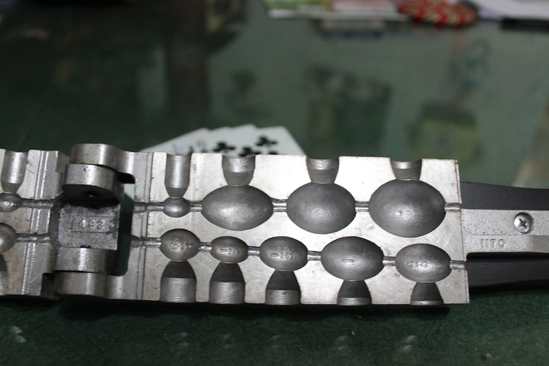 Vintage Egg Sinker Mold 9 Assorted Sizes 18 To 3 Oz Mold Model EG-9-A